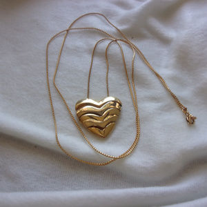 Jewelry - Heart slide necklace
